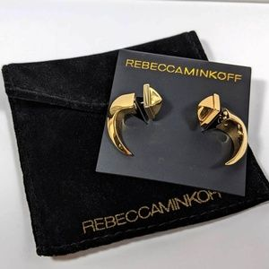 Rebecca Minkoff Front Back Earrings